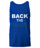 Back The Blue Unisex Tank Top - Zacaca Shop USA - 5