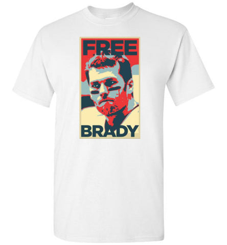 Free Brady Gildan Short-Sleeve T-Shirt - Zacaca Shop USA - 1