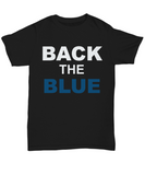 Back The Blue Unisex Tee shirt - Zacaca Shop USA - 1
