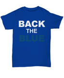 Back The Blue Unisex Tee shirt - Zacaca Shop USA - 5