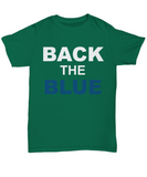 Back The Blue Unisex Tee shirt - Zacaca Shop USA - 15