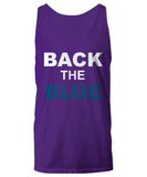 Back The Blue Unisex Tank Top - Zacaca Shop USA - 7