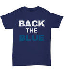 Back The Blue Unisex Tee shirt - Zacaca Shop USA - 11