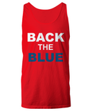 Back The Blue Unisex Tank Top - Zacaca Shop USA - 3