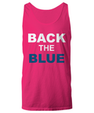 Back The Blue Unisex Tank Top - Zacaca Shop USA - 13