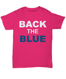 Back The Blue Unisex Tee shirt - Zacaca Shop USA - 13
