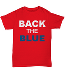 Back The Blue Unisex Tee shirt - Zacaca Shop USA - 3