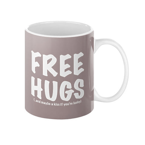 Free Hugs Coffee Mug - 11oz - 15oz - Zacaca Shop USA - 1