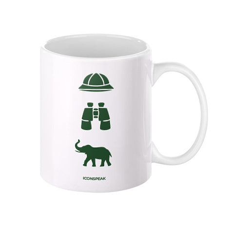 iconspeak Safari Story Coffee Mug - Zacaca Shop USA - 1