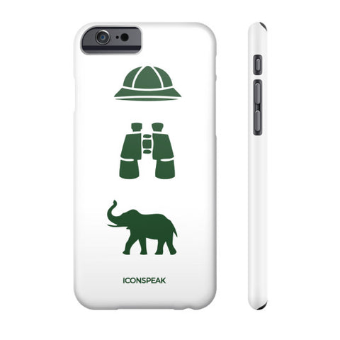 iconspeak Safari Story Phone Case - Zacaca Shop USA - 2