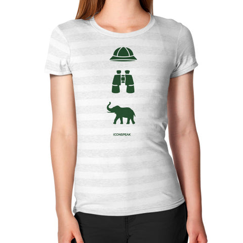 iconspeak Safari Story Women's T-Shirt - Zacaca Shop USA - 2