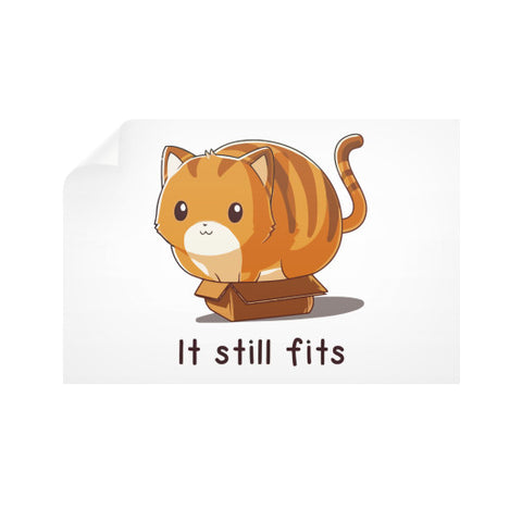If it fits I sits Horizontal Wall Decals - Zacaca Shop USA - 1