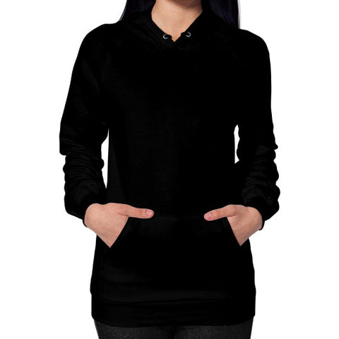 M_O_R_S_E Dark Variant Hoodie (on woman) Shirt Black Zacaca Shop USA