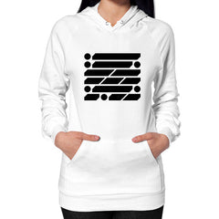 M_O_R_S_E Dark Variant Hoodie (on woman) Shirt