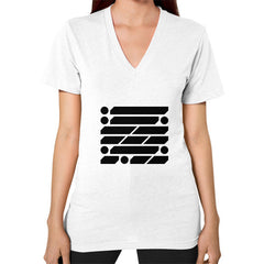 M_O_R_S_E Dark Variant V-Neck (on woman) Shirt