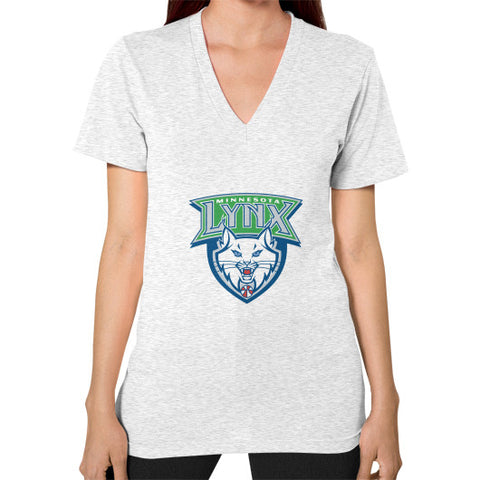 Minnesota Lynx V-Neck (on woman) Shirt - Zacaca Shop USA - 2