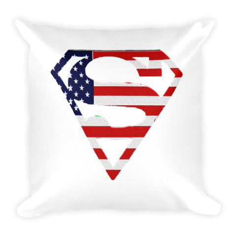 American flag superman Pillow - Zacaca Shop USA