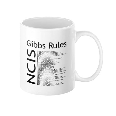 NCIS: Gibbs Rules Mug - Zacaca Shop USA - 1