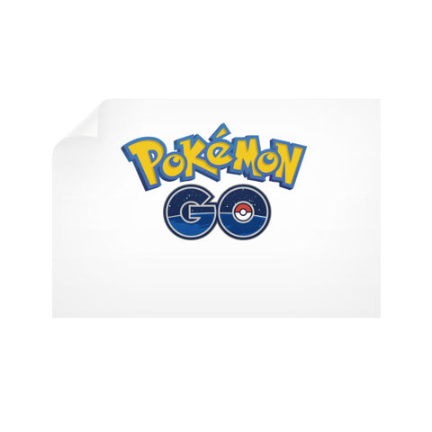 Pokemon GO Horizontal Wall Decals - Zacaca Shop USA - 1