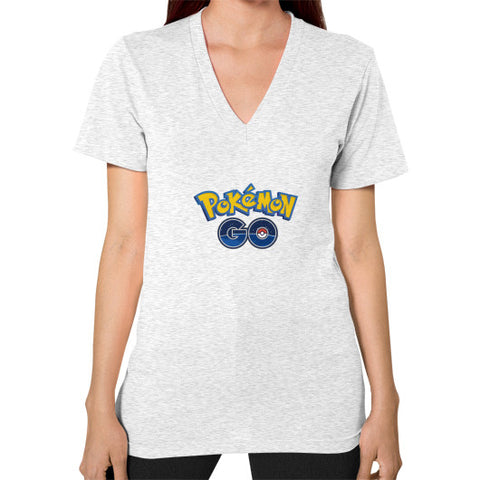 Pokemon GO V-Neck (on woman) Shirt - Zacaca Shop USA - 2