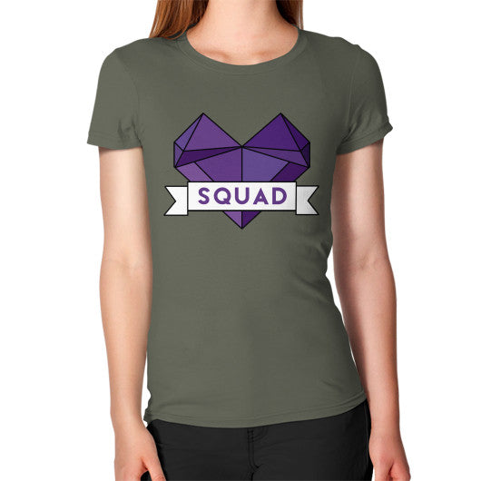 'Squad' Heart Tees  Women's T-Shirt Lieutenant Zacaca Shop USA