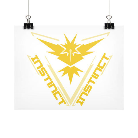 Team Instinct Horizontal Fine Art Prints (Posters) - Zacaca Shop USA - 1