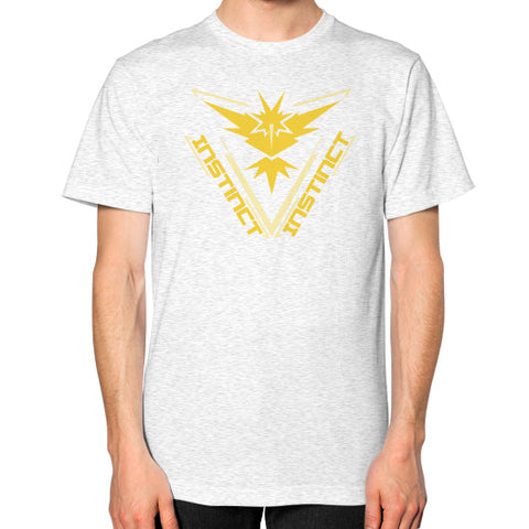 Team Instinct Unisex T-Shirt (on man) - Zacaca Shop USA - 2