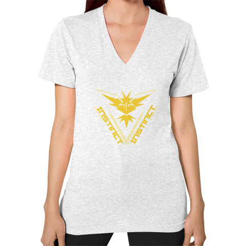 Team Instinct V-Neck (on woman) Shirt - Zacaca Shop USA - 2