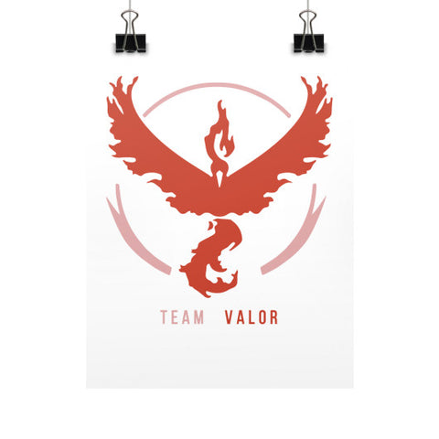 Team Valor Vertical Fine Art Prints (Posters) - Zacaca Shop USA - 1