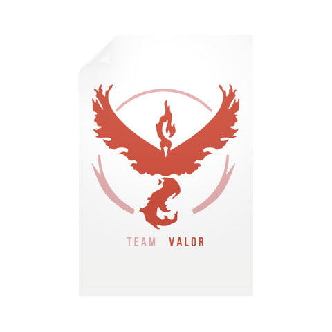 Team Valor Vertical Wall Decals - Zacaca Shop USA - 1