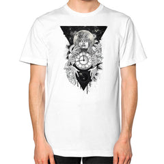 'THE PASSAGE' Unisex T-Shirt (on man)