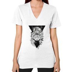 'THE PASSAGE' V-Neck (on woman)
