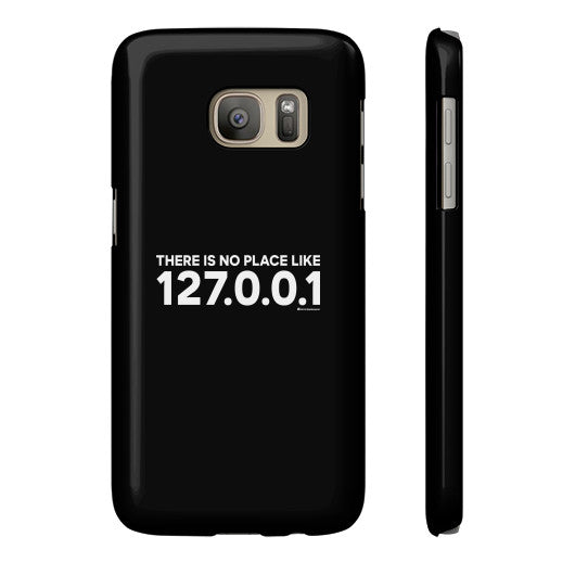 THERE IS NO PLACE LIKE 127.0.0.1 Phone Case  Zacaca Shop USA