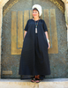 Shani Segev, Gray Maxi Dress, Kimono Sleeve Dress, Summer Dress, Long Dress Modest, Oversized Dress Women, Autumn Dress, Modest Dress