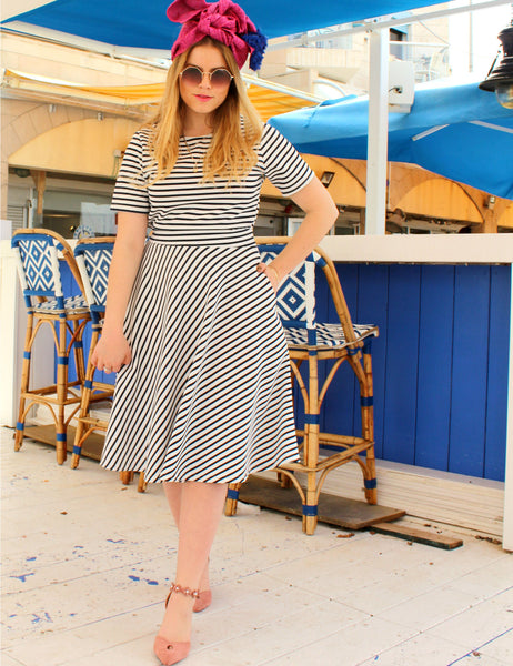 blue-white-stripes-full-skirt-pockets-shani-segev