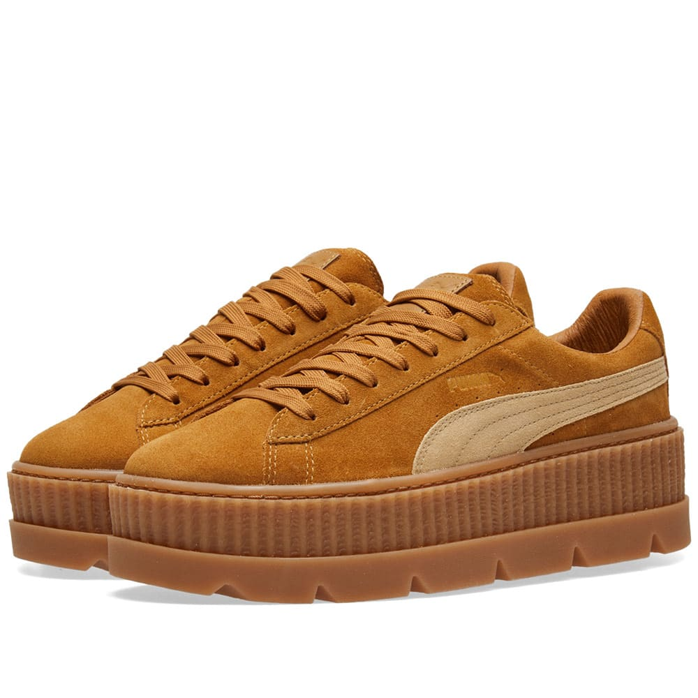 PUMA CLEATED CREEPER BROWN