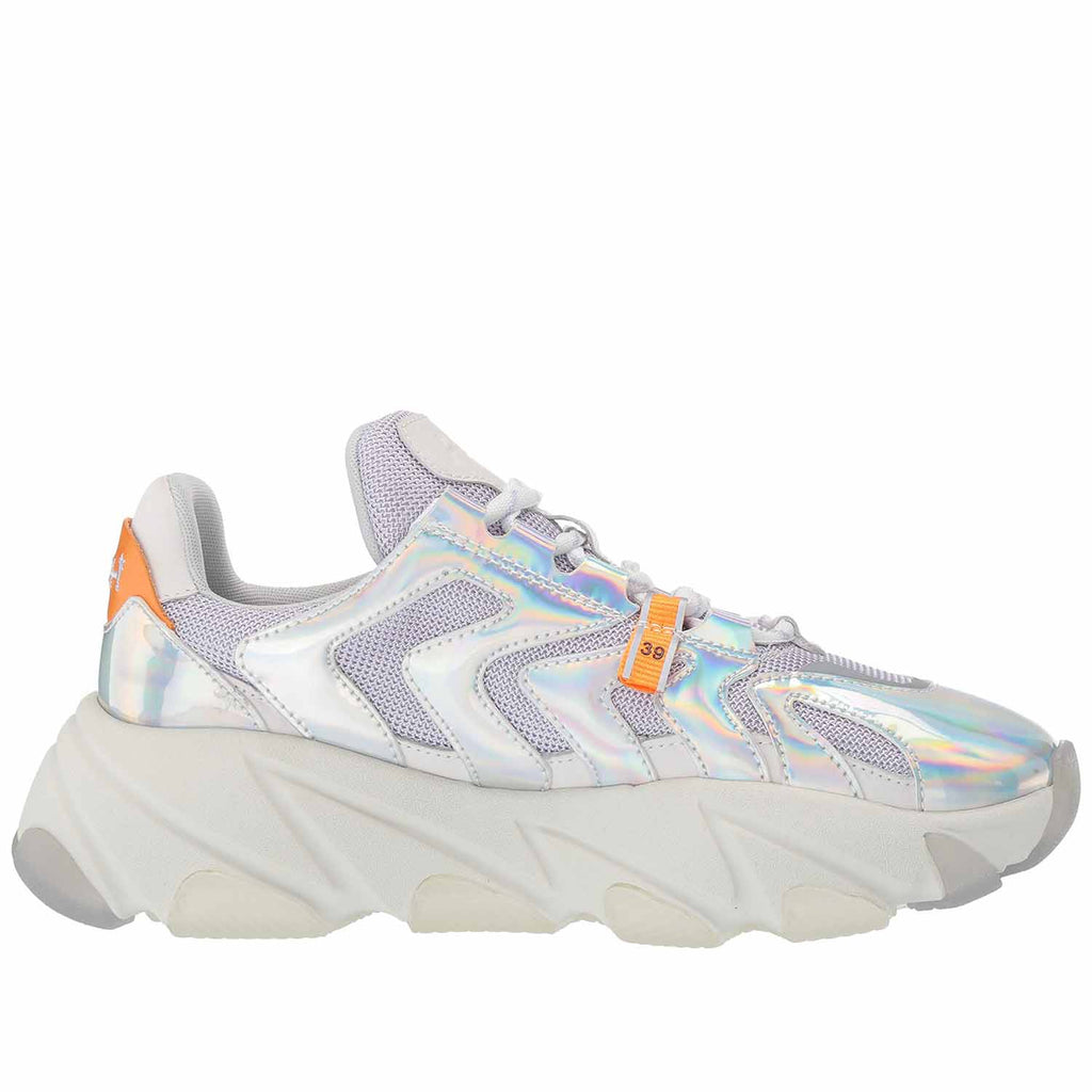 ASH EXTREME SILVER CORAL SNEAKER