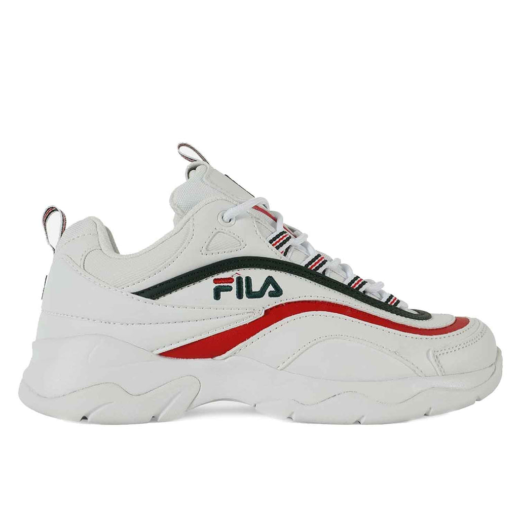 FILA RAY WHITE / RED / GREEN