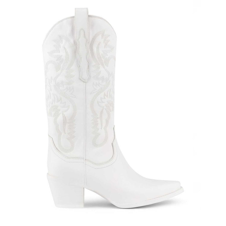 Jeffrey Campbell DAGGET WHITE BOOTS