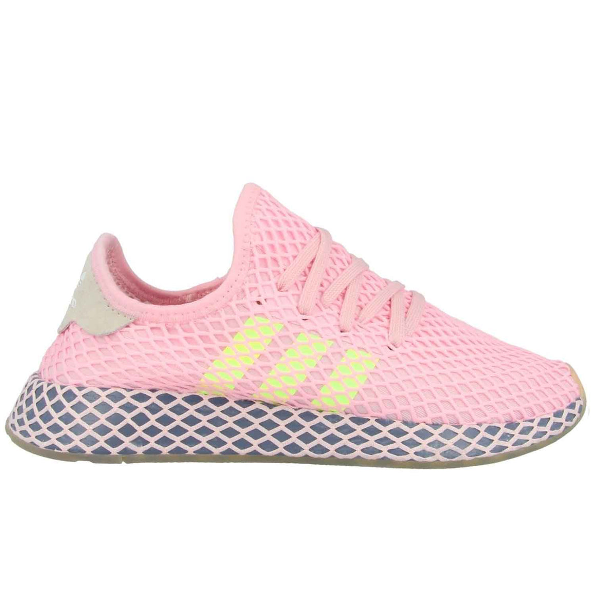 ADIDAS DEERUPT RUNNER PINK YELLOW
