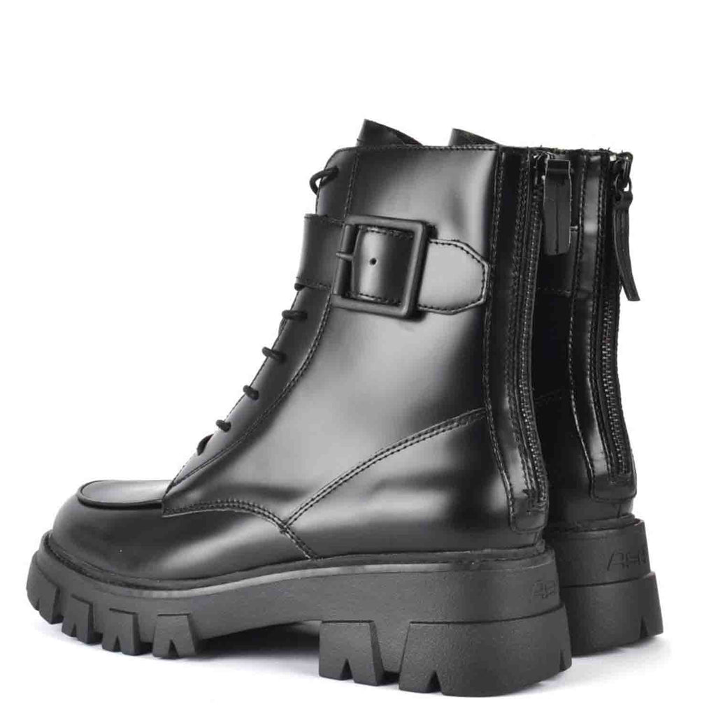 ASH LEWIS CHUNKY SOLE BIKER BOOTS