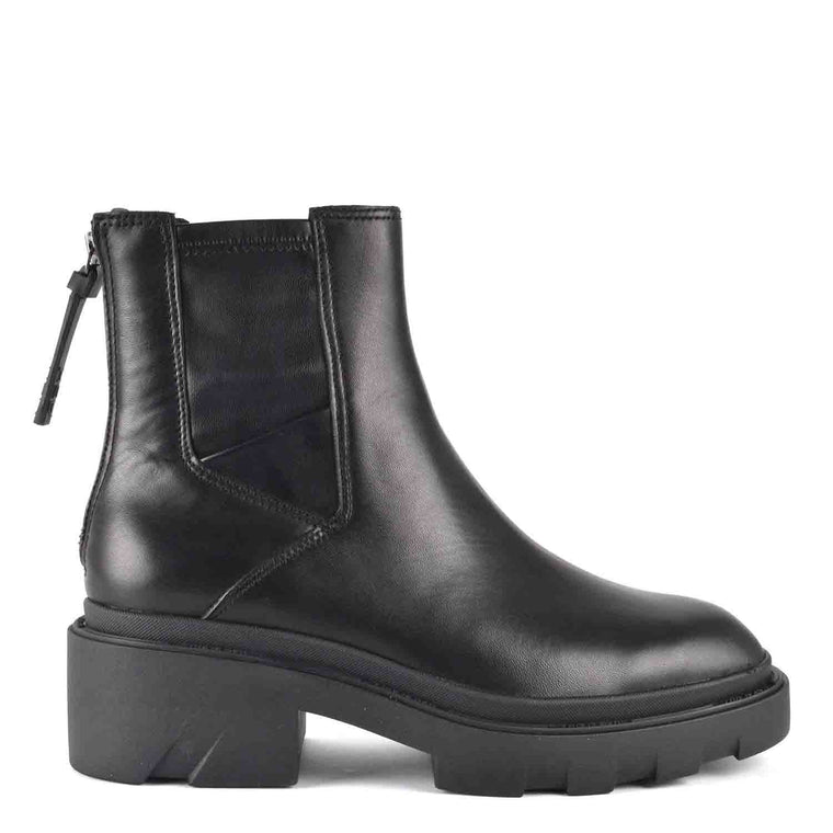 ASH MAGMA CHELSEA ANKLE BOOTS