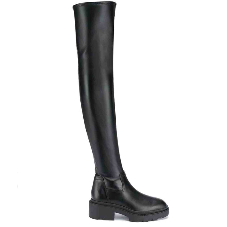 ASH MANHATTAN OVER THE KNEE BOOTS