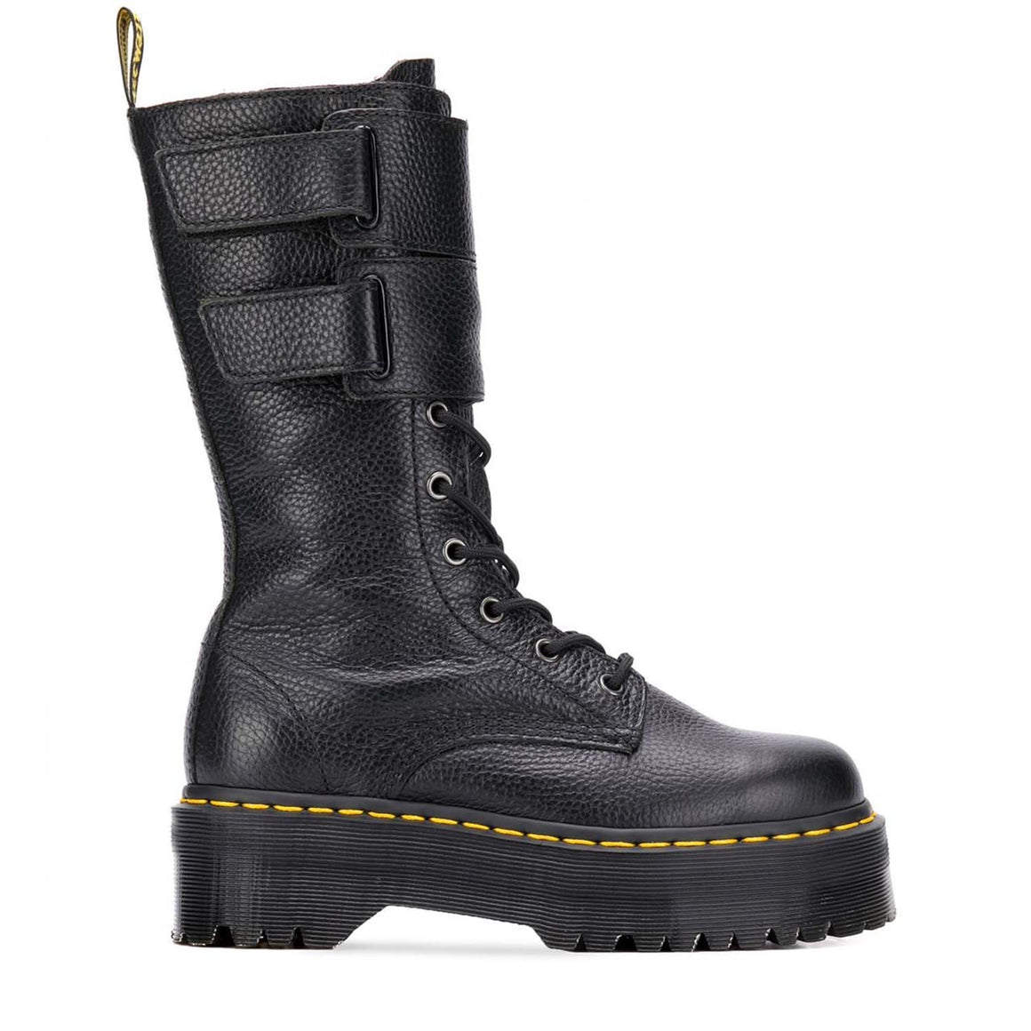 DR. MARTENS JAGGER THIGH HIGH BOOTS