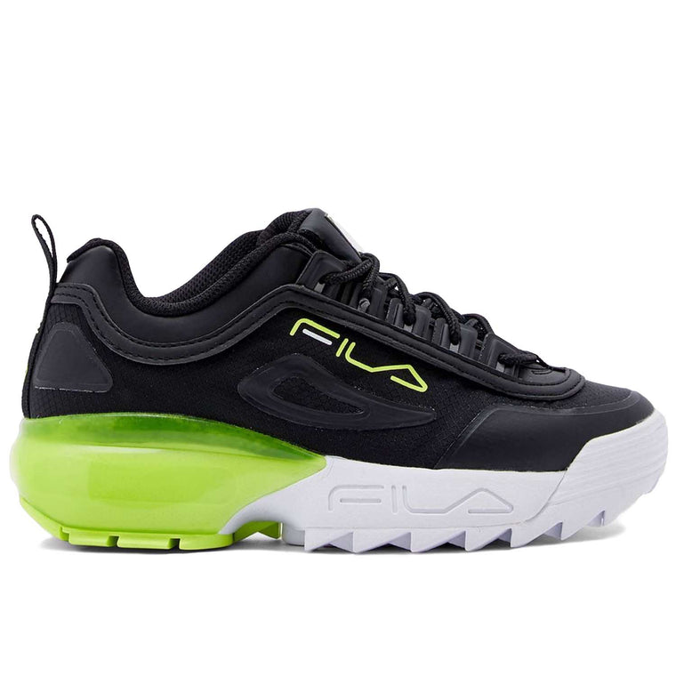 FILA DISRUPTOR 2A BLACK SAFETY YELLOW