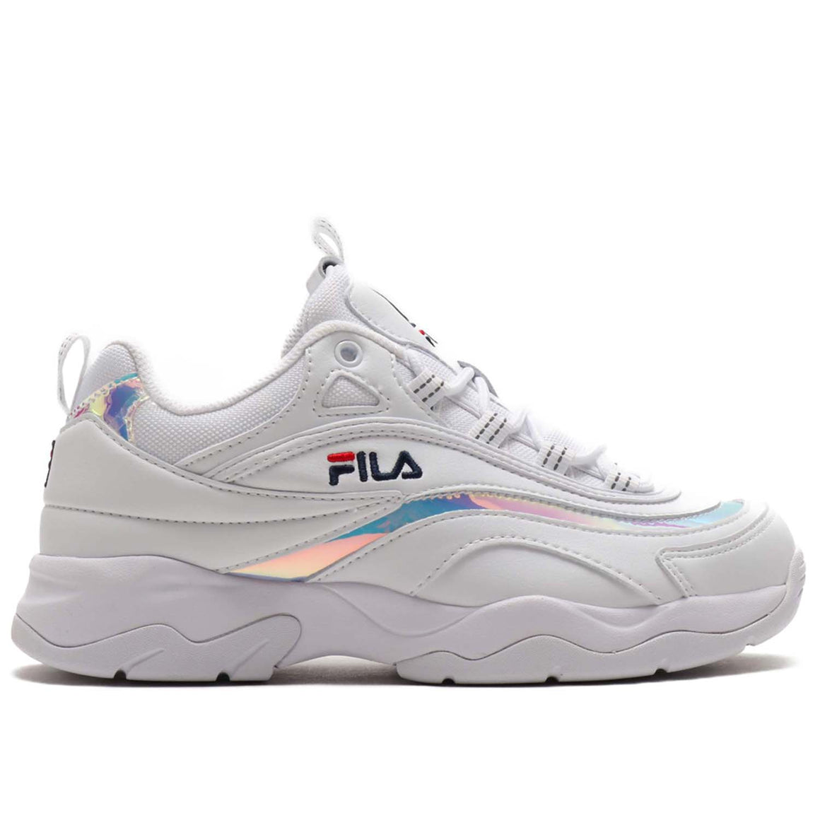 FILA RAY WHITE SILVER