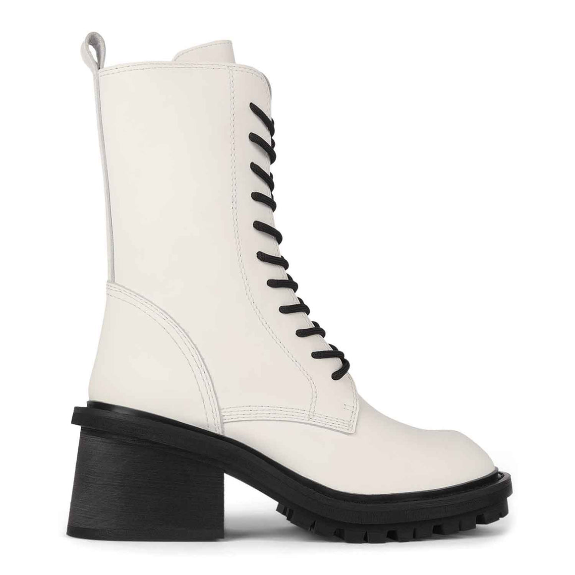 JEFFREY CAMPBELL ANNEXED WHITE BOOTS