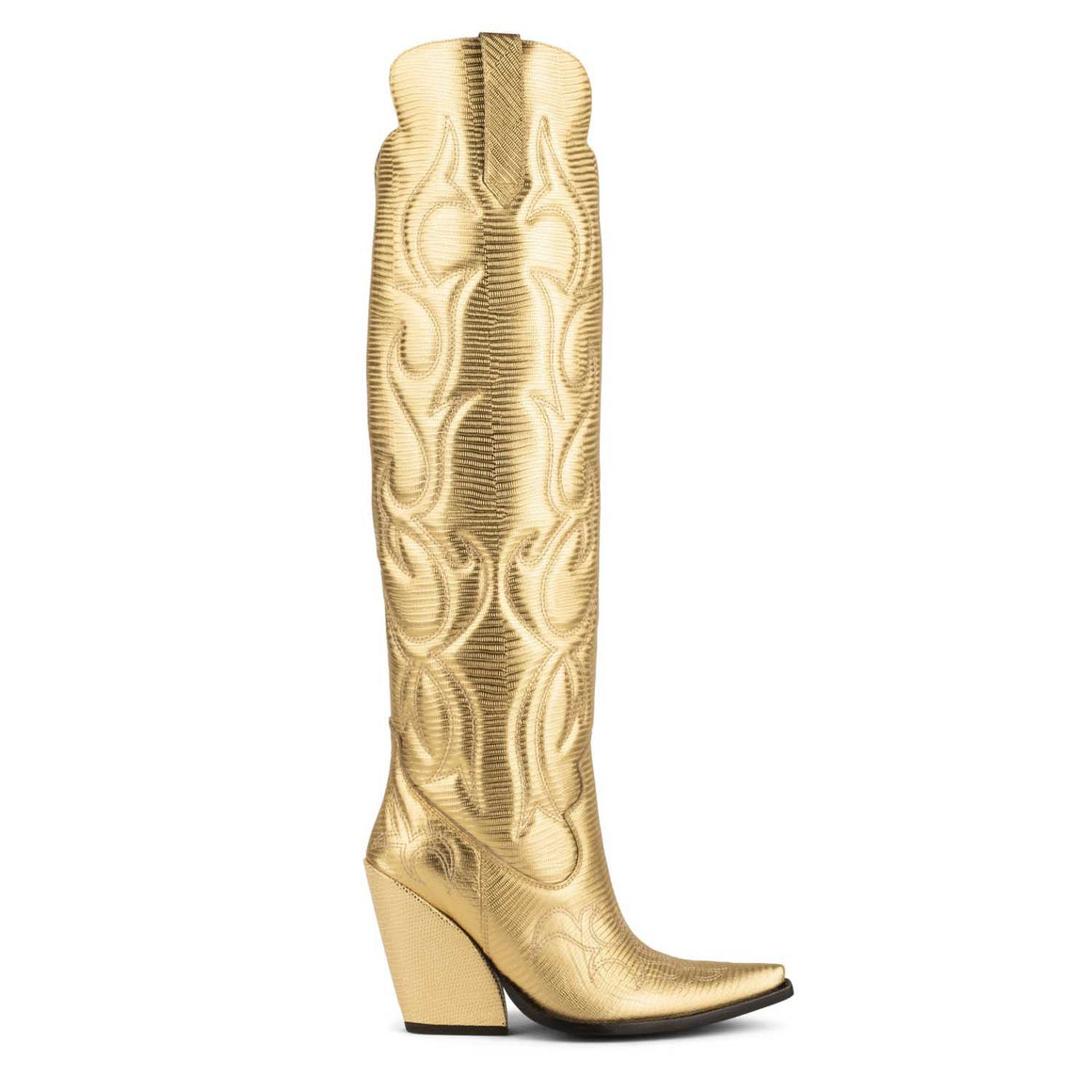 Jeffrey Campbell AMIGOS GOLD LIZARD
