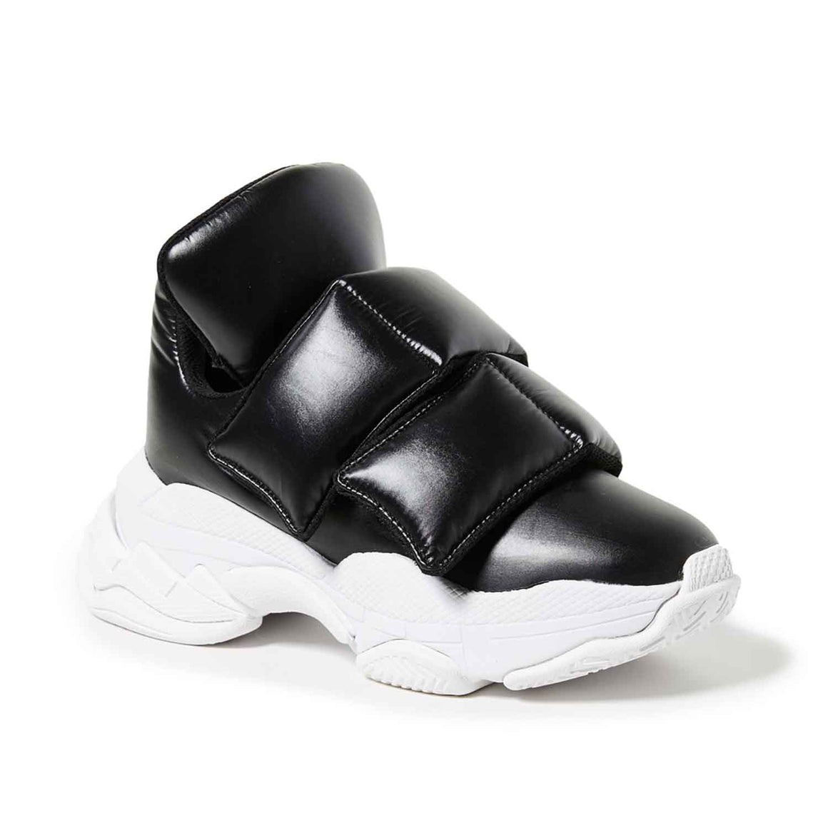 JEFFREY CAMPBELL Retina Velcro Sneakers Black