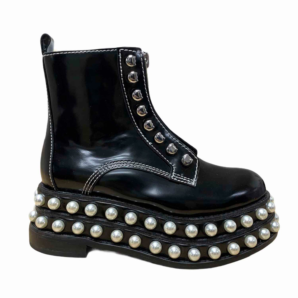 Jeffrey Campbell LOCURA PEARLS BOOTS